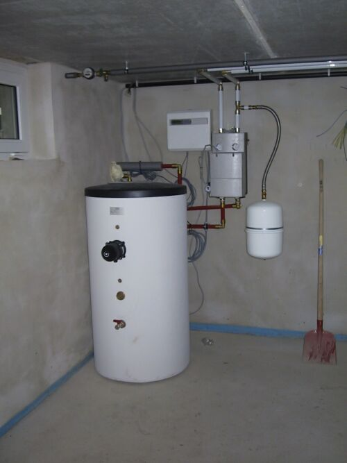 Wasseranschluss heizung